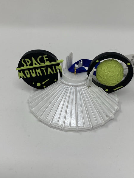 Disney Tomorrowland Space Mountain Ear Hat Ornament