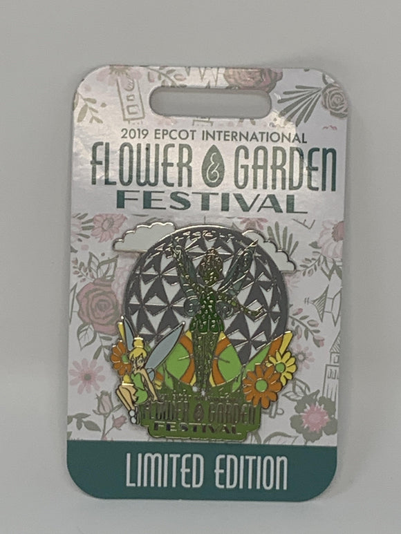 Disney Flower and Garden Pin - 2019 Topiary Tinker Bell