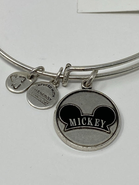 Disney Mickey Mouse Ear Hat Silver Alex and Ani Bracelet