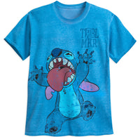 Disney TRBL MKR Stitch Acid Wash Men's Unisex Shirt