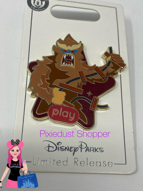 Disney Parks Play Interactive Game App LR Yeti Everest Pin - Pixiedust Shopper