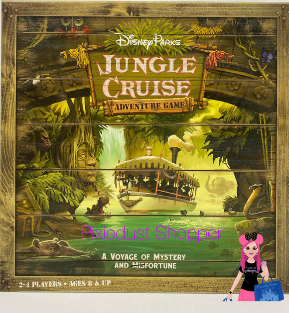 Disney Parks Jungle Cruise Adventure Game