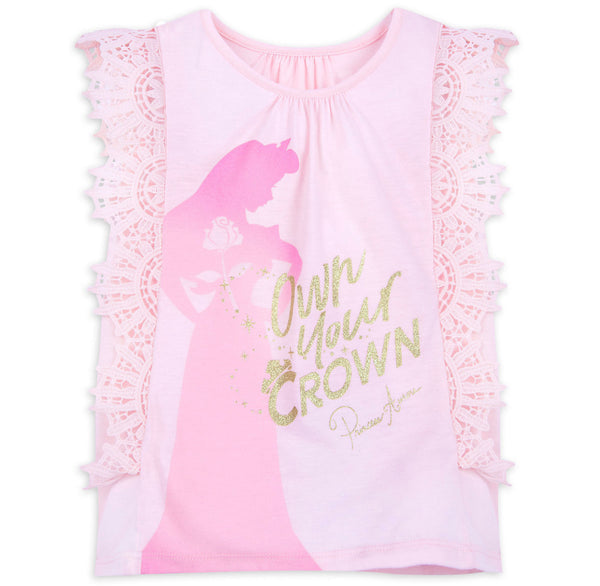 Disney Princess Aurora Own Your Own Crown Kids Shirt