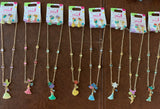 Disney Princess Earring and Necklace Set