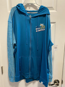 RunDisney 2020 Marathon Weekend Donald Half 13.1 Zip Up Mens Jacket