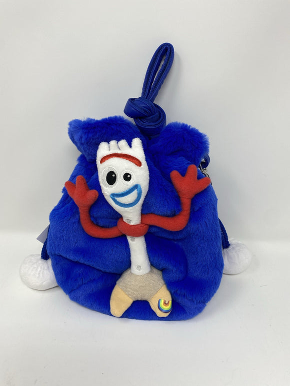 Disney Toy Story 4 Forky Plush Duffle Crossbody Purse