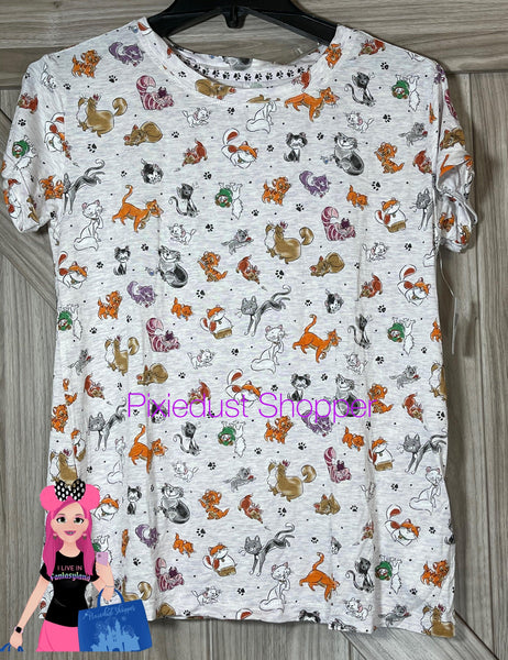 Disney Cats T-Shirt for Women