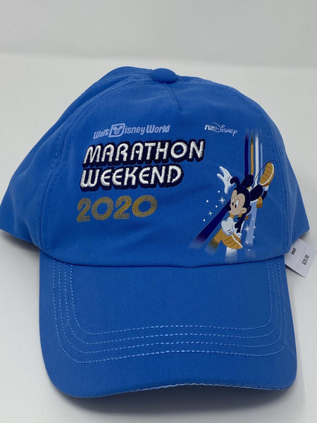 RunDisney 2020 Marathon Weekend Mickey Dopey and 4 Parks Adult Baseball Hat
