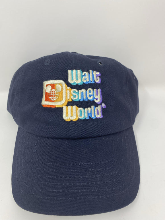 Walt Disney World Retro Navy Adult Baseball Hat