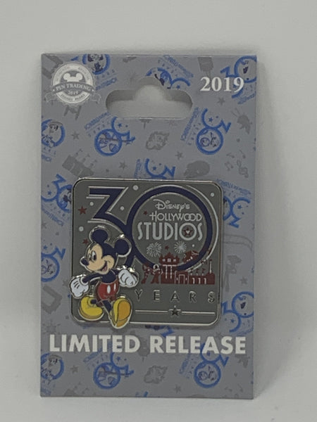Disney Hollywood Studios 30 Year Mickey Pin Limited Release