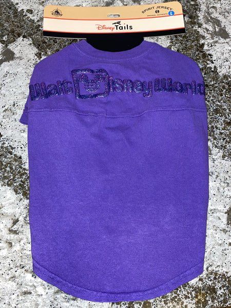 Disney Purple Potion Dog Spirit Jersey size Large