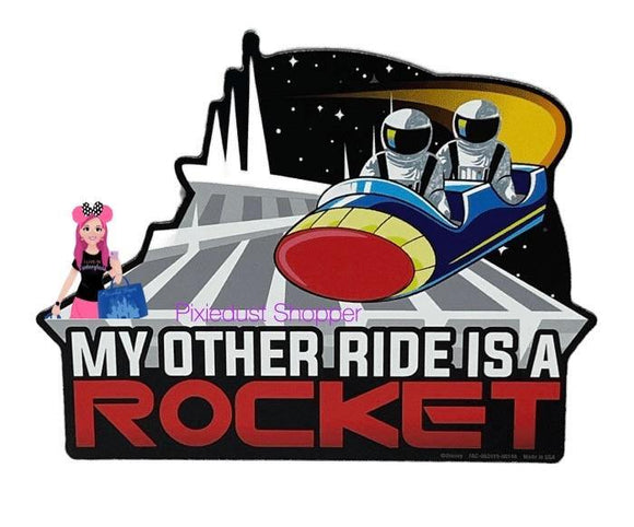 Disney My Other Ride is a Rocket Space Mountain Magnet
