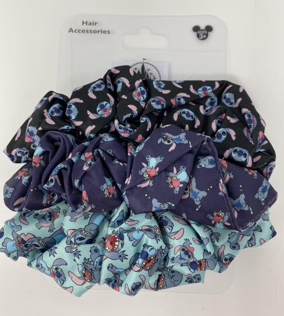 Disney Stitch Hair Scrunchie 3 Pack