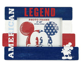 "Disney Mickey Mouse American Legend Americana 4"" x 6"" Picture Frame"