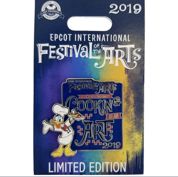 Disney 2019 Festival of Arts Donald Limited Edition Pin