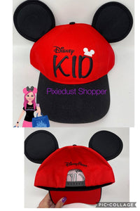 Disney Kid Mickey Ear Youth Baseball Hat