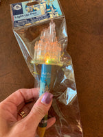 Disney World Light Up Color Changing Castle Pen