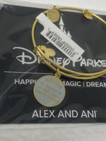 Disney A Dream is a Wish your Heart Makes Gold Alex and Ani Bracelet