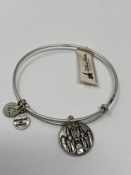 Disney Castle Silver Alex and Ani Bracelet