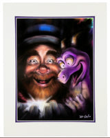 Disney One Little Spark Figment and Dreamfinder Print