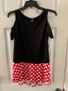 Disney Minnie Cold Shoulder Ladies Shirt
