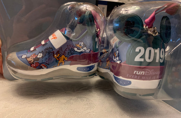 RunDisney 2019 Every Mile is Magic Run the World Shoe Ornament