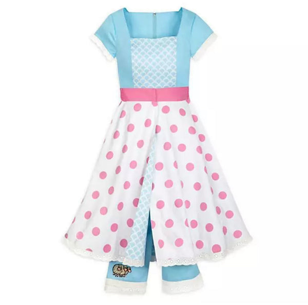 Disney Dress Shop Toy Story Bo Peep Jumpsuit Romper Dress with Removable Skirt