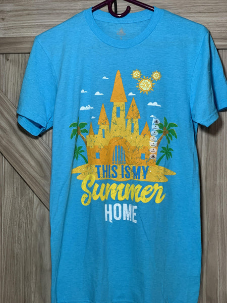 Disney This is My Summer Home Sand Castle Shirt