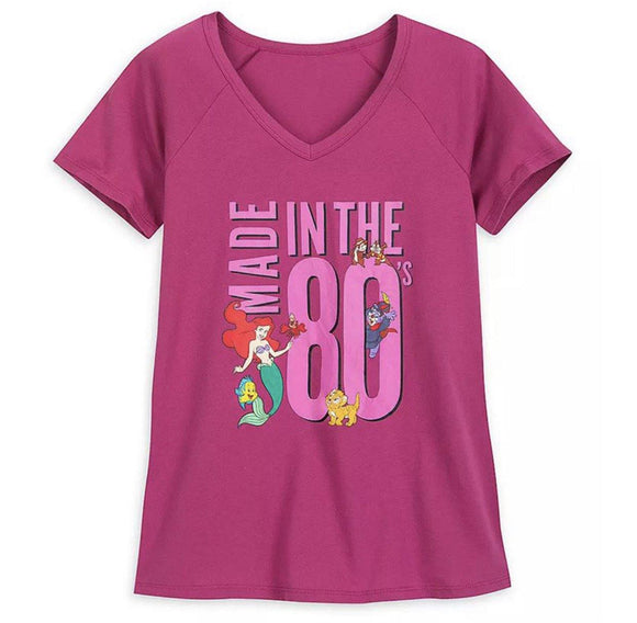 Disney Made in the 80's Ladies Shirt