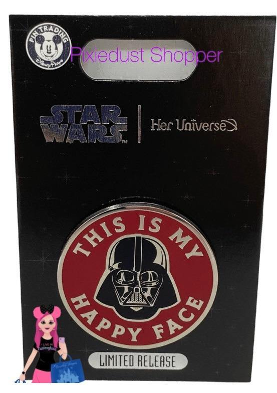 Darth Vader Pin by Her Universe – Star Wars – Limited Release