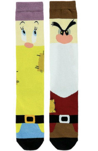 Disney Adult Grumpy and Dopey Socks