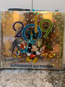 Disney World 2019 Autograph and Photo book