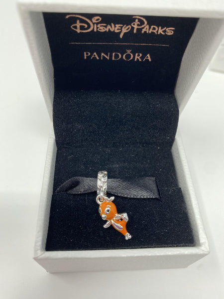 Disney Epcot 2020 Flower and Garden Festival Orange Bird Pandora Dangle Charm