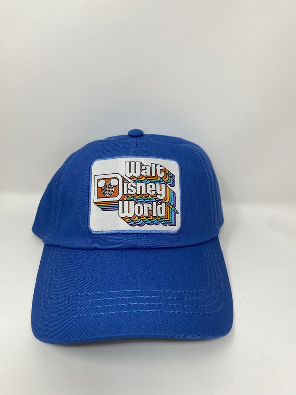 Walt Disney World Blue Retro Adult Baseball Hat
