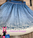 Disney Epcot France World Showcase Dress Shop Skirt