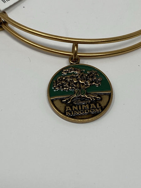 Disney Animal Kingdom 20th Anniversary Rose Gold Alex and Ani Bracelet