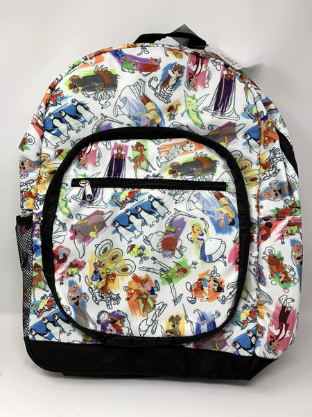 Disney Ink and Paint Backpack featuring Brer Fox and Brer Rabbit on Front Pocket and Back