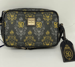 Disney Dooney and Bourke Haunted Mansion 50th Anniversary  Crossbody