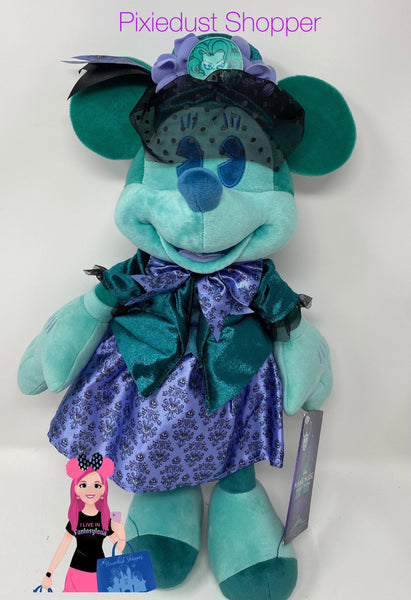Disney Minnie Main Attraction Haunted Mansion Plush