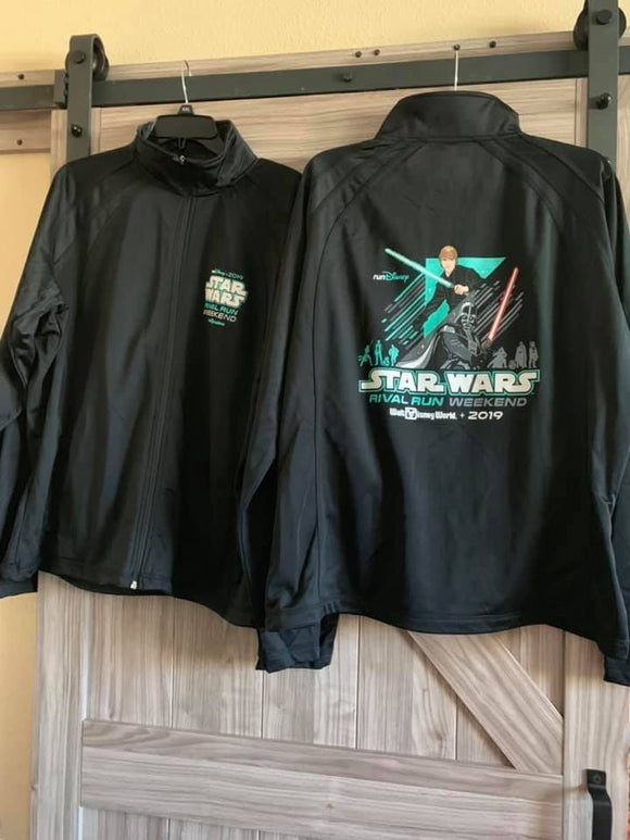 RunDisney Star Wars 2019 Rival Run Weekend Zip Up Jacket