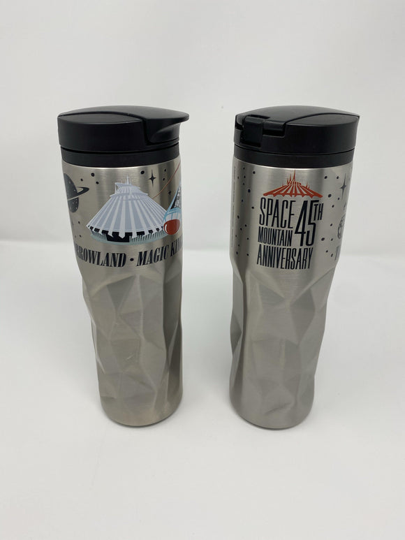 Disney Space Mountain 45th Anniversary Tomorrowland Water Bottle