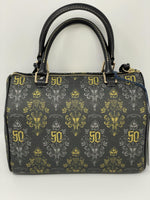 Disney Dooney and Bourke Haunted Mansion 50th Anniversary AP Crossbody Satchel Purse