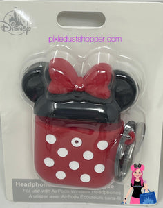 Disney D Tech Minnie Mouse Apple AirPods Pro Silicone Case with Clip - Pixiedust Shopper