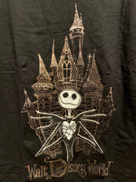 Jack Skellington at Cinderella Castle T-Shirt for Adults – Walt Disney World
