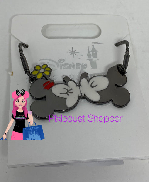 Disney Mickey and Minnie's Runaway Railway Kissing Necklace