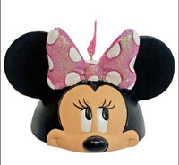 Disney Minnie Mouse Ear Hat Christmas Ornament