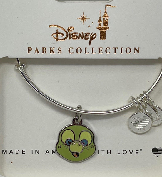 Disney Aulani Exclusive Olu Turtle Alex and Ani Bracelet in Silver