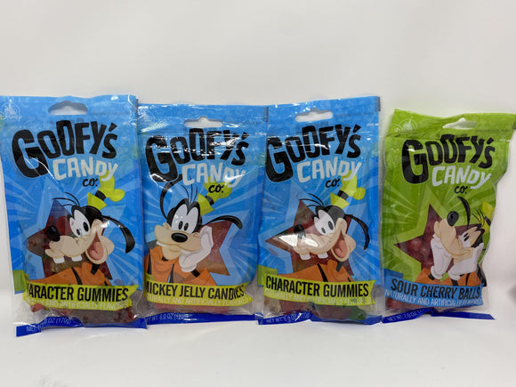 Disney Goofy's Candy Company Gummies, Jelly Candies, Sour Balls