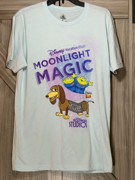 Disney Vacation Club Moonlight Magic Mens Unisex Shirt