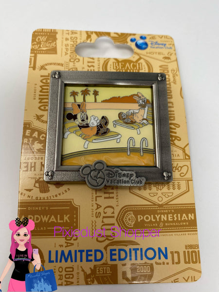 Disney Vacation Club Minnie and Daisy Limited Edition Pin